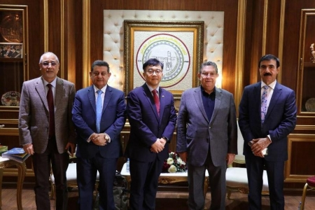 The South Korean Embassy supports Businessmen